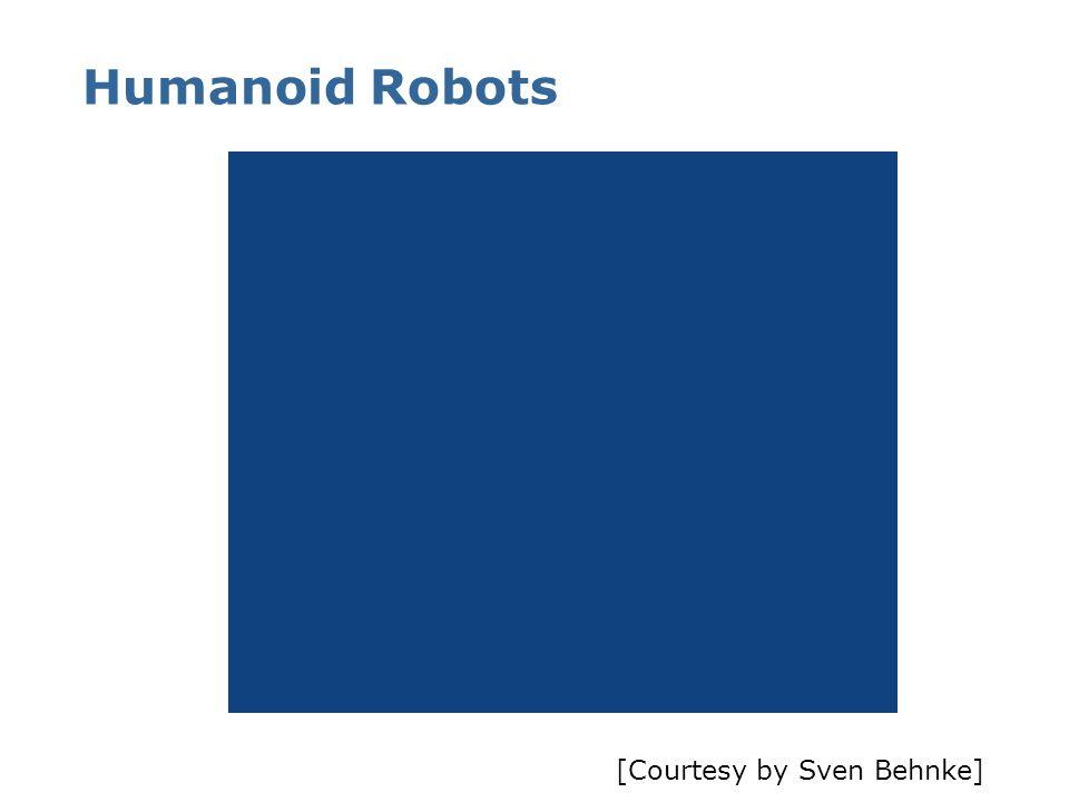 Humanoid Robots [Courtesy by Sven Behnke]